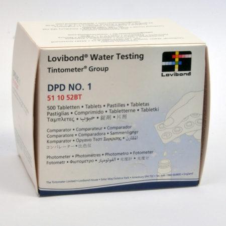 NRO. 50  DPD 1 vapaan kloorin testi tabletit 1liuska sis 10 tabl. 5050190 , hinta 3,00e liuska