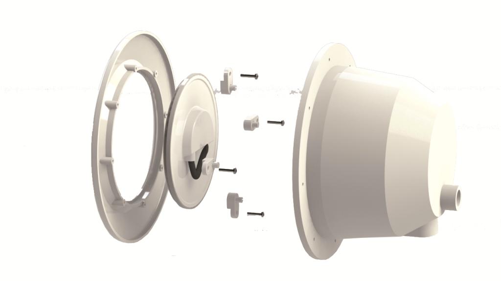 LED lamppu  PLW700B  valkoinen, sopii useimpiin PAR56